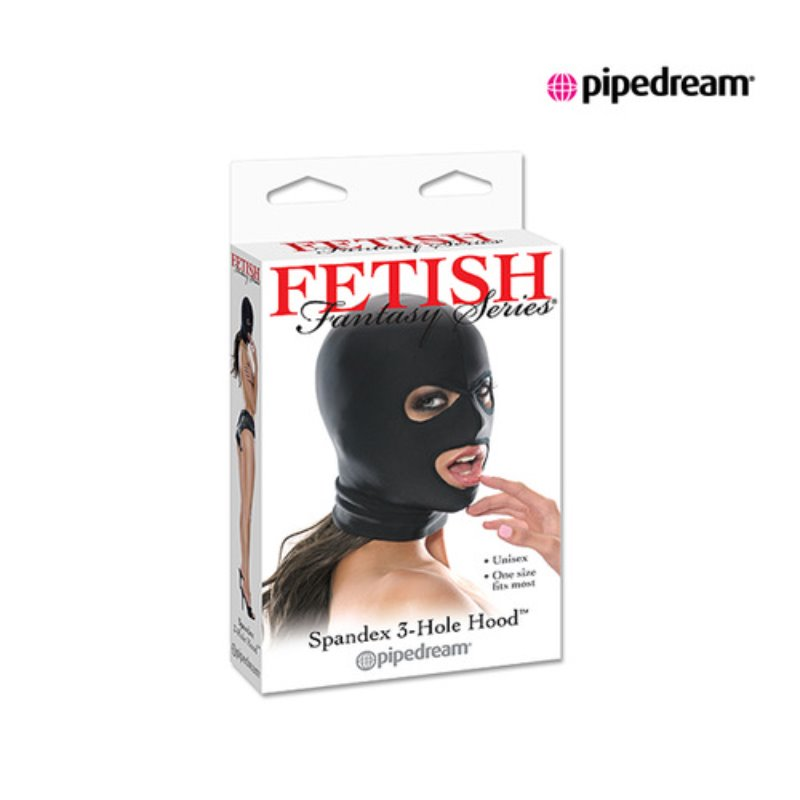 [PD385501] spandex 3 hold hood